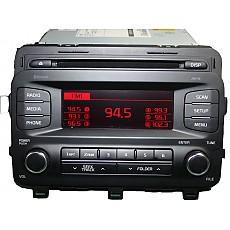 (R4M6) 중고 기아차  올뉴모닝  오디오  블루튜스 CD MP3   (96170-1Y060MB2)