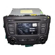(R4S4형) 뉴쏘렌토R MP3 CD 블루튜스 4.3인치 오디오(96180-2PAA0VA) 후방카메라지원 중고